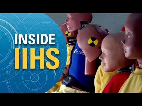 Inside IIHS: Crash test dummies at work
