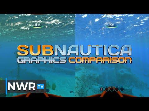 Subnautica Switch Graphics Comparison VS Xbox One