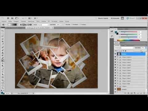 Photoshop - Máscara de corte