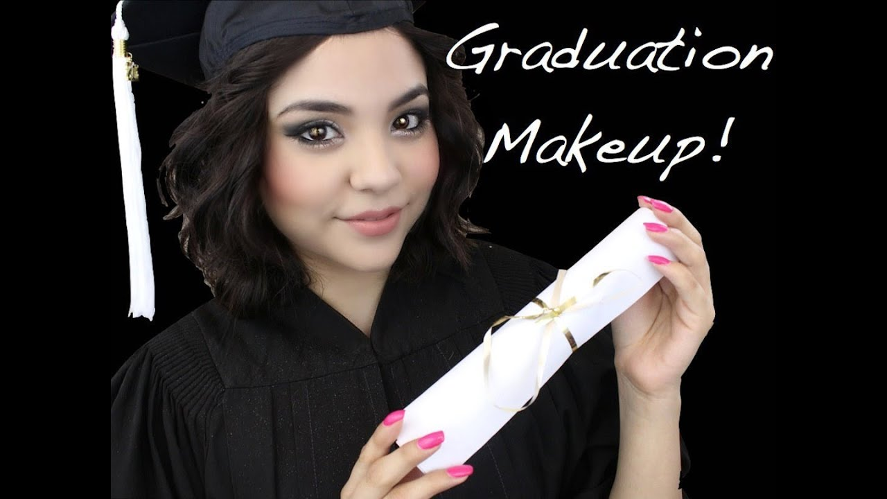 Graduation Makeup Tutorial! + I Graduated! - YouTube