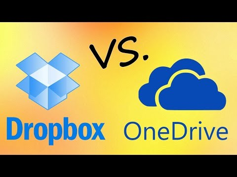 Dropbox vs  SkyDrive