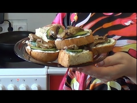 11. Бутерброд со шпротами