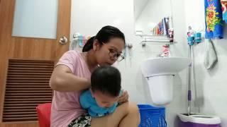 Hướng dẫn rửa mũi cho bé dưới 2 tuổi