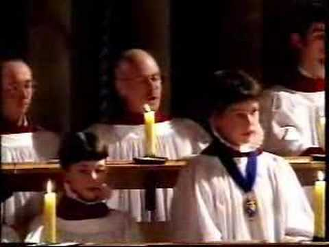 In the Bleak Mid Winter from Lichfield Cathedral in 1995. A beautiful carol. Unfortunately, the director chooses to go walkabouts with the cameras when the t...