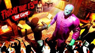 DANCE PARTY JASON | Friday the 13th Game Part 27