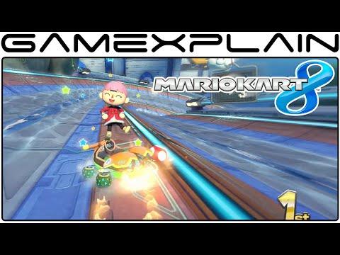 Mario Kart 8 DLC: Big Blue Gameplay 60fps Full Race