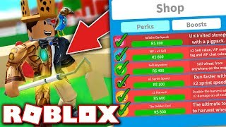 BUYING ALL THE GAMEPASSES IN FARMING SIMULATOR!! (Roblox)