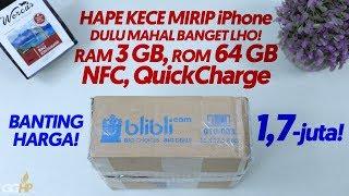 BANTING HARGA Dari 5-Jutaan Jadi 1,7 Juta!! Ada NFC / Quickcharge / ROM 64 GB