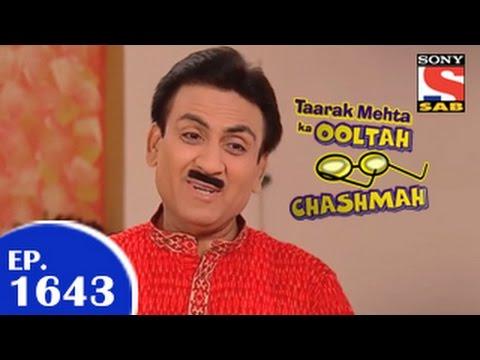 Taarak Mehta Ka Ooltah Chashmah -  तारक मेहता - Episode 1643 - 3rd April 2015 video