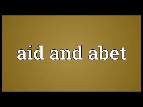 Header of Aid and Abet