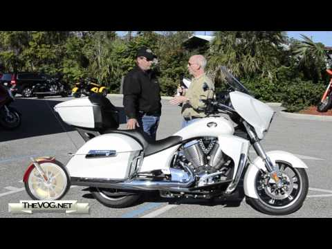 2012 Victory Cross Country Tour Motorcycle Review