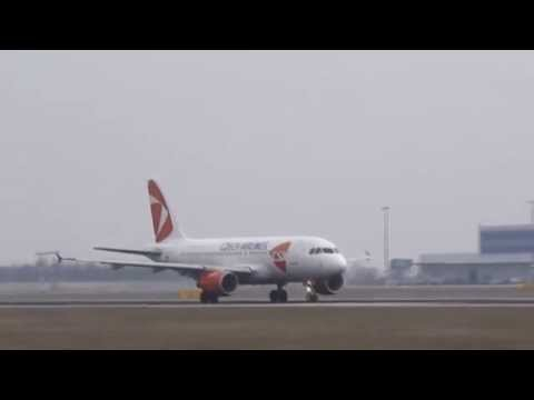 Prague Airport compilation
