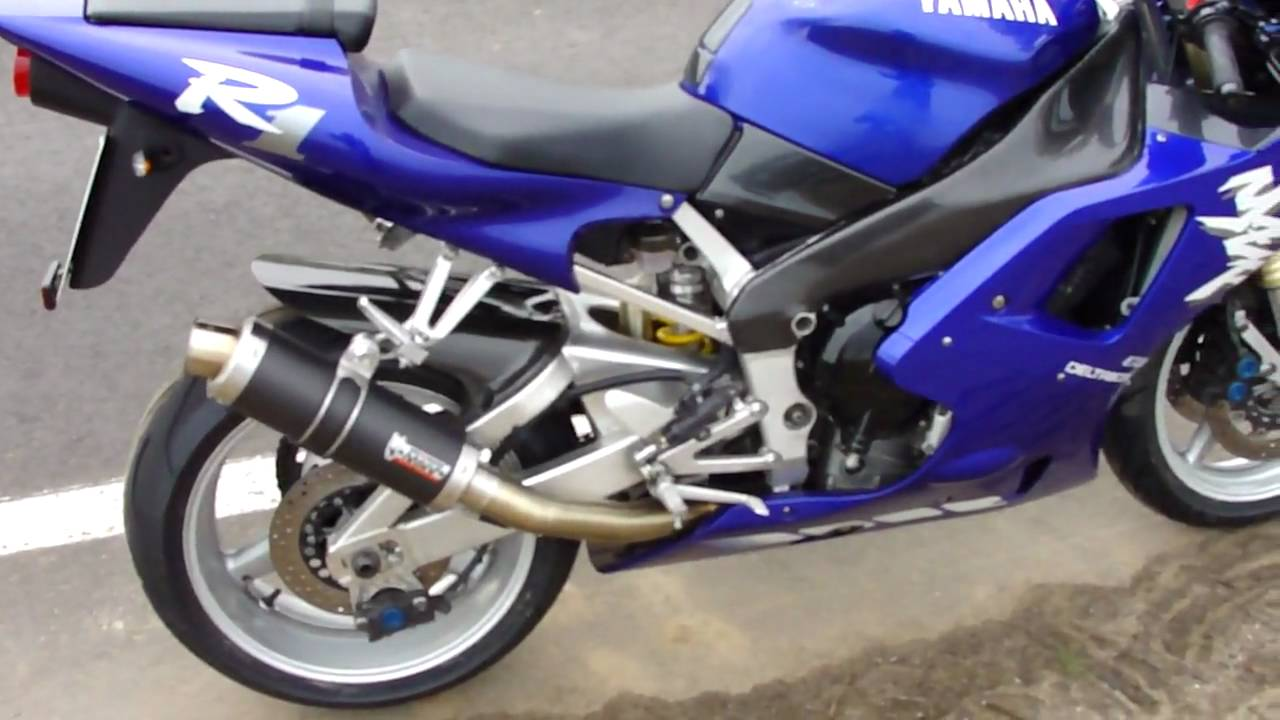 1998 R1 >> Yamaha R1 1998 Mivv GP Exhaust - YouTube