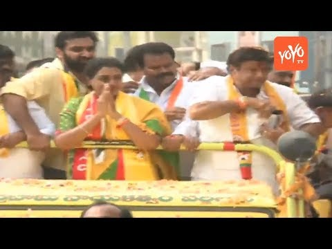 Balakrishna LIVE | Balakrishna Road Show - Old Bowenpally | Telangana Elections | YOYO TV Channel