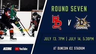NZIHL 2018 | Round 6 Game 27: Canterbury Red Devils v Dunedin Thunder - July 13