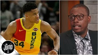 Giannis will develop respectable jumper soon, and that's 'scary' - Paul Pierce | The Jump