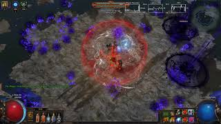 Path Of Exile - Pure Phys Shockwave Totem Ascendant Shaper Run (3.0/3.1ok) (Cheap 4l gear viable)