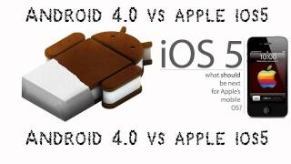 Ice Cream Sandwich VS Apple iOS 5