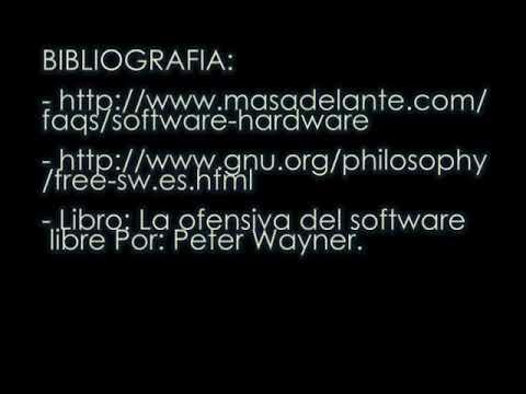Que es Software libre ? Para que sirve?