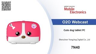Cute dog tablet PC - Mobile Electronics show