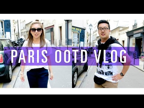 PARIS VLOG // Tourist OOTD & More Eating