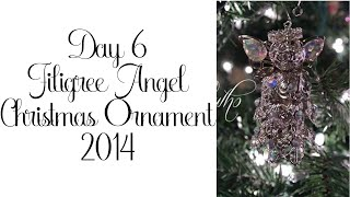 Day 6 of 10 Days of Christmas Ornaments with Cynthialoowho 2014!