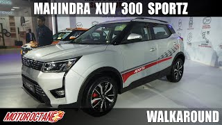 130bhp Mahindra XUV300 Sportz | Hindi | Motoroctane