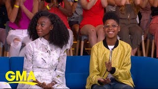 J.D. McCrary and Shahadi Wright Joseph dish on bringing 'The Lion King' to life  | GMA