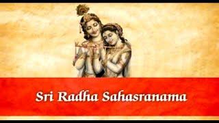 Sri Radha Sahasranama