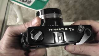 Minolta Hi-Matic 7s 35mm Rangefinder Film Camera Review / Overview