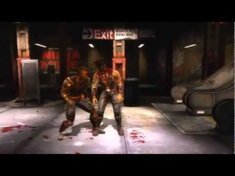 Mortal Kombat 9 - Human Cyrax and Human Sektor (Tag Ladder) [Expert] No Matches/Rounds Lost