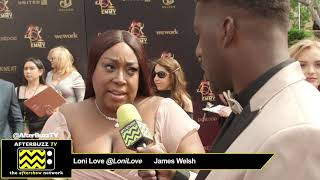 Loni Love & James Welsh Interview | 2019 Daytime Emmy Awards