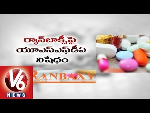 U.S FDA bans Ranbaxy Products