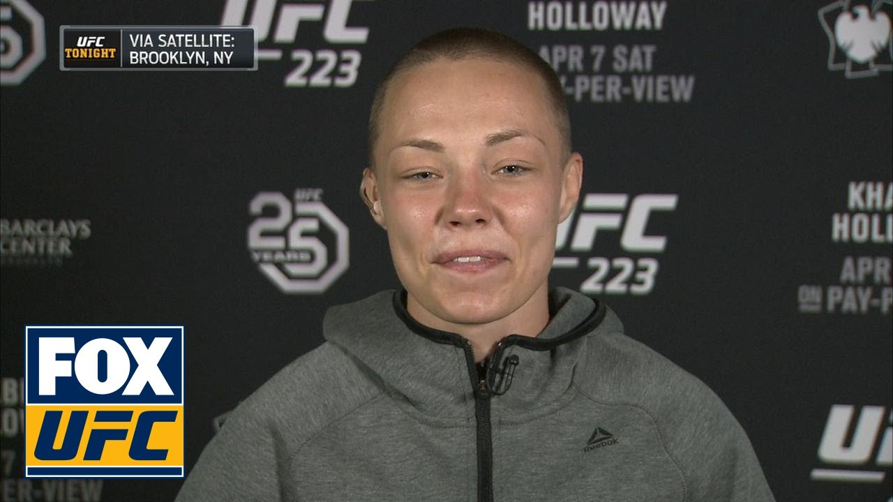 Rose Namajunas talks to UFC Tonight ahead of UFC 223 | INTERVIEW | UFC TONIGHT