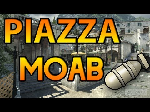 FIRST MOAB ON PIAZZA! (NEW MW3 MAPS DLC)