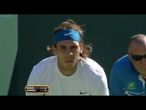 Rafael Nadal v Andy Murray: BNP Paribas Open 2009 Flashback