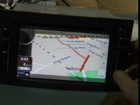 Sistem de navigatie Opel Astra H, TTi 6504