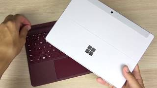 Unboxing Microsoft Surface Go And First Look !