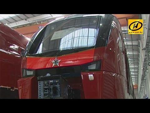 Поезда STADLER в Беларуси - как их производят?