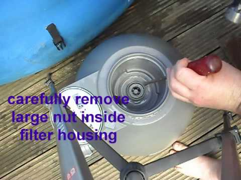 Lay Z Spa Filter Unit 640x480 Wmv Youtube
