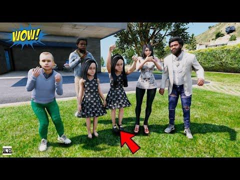 GTA 5 REAL LIFE MOD SS7 #9 BABY TWINS TURN 5 YEARS OLD