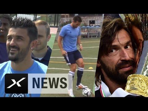 Andrea Pirlo bald mit David Villa und Frank Lampard für FC New York City? | Wechsel in die MLS