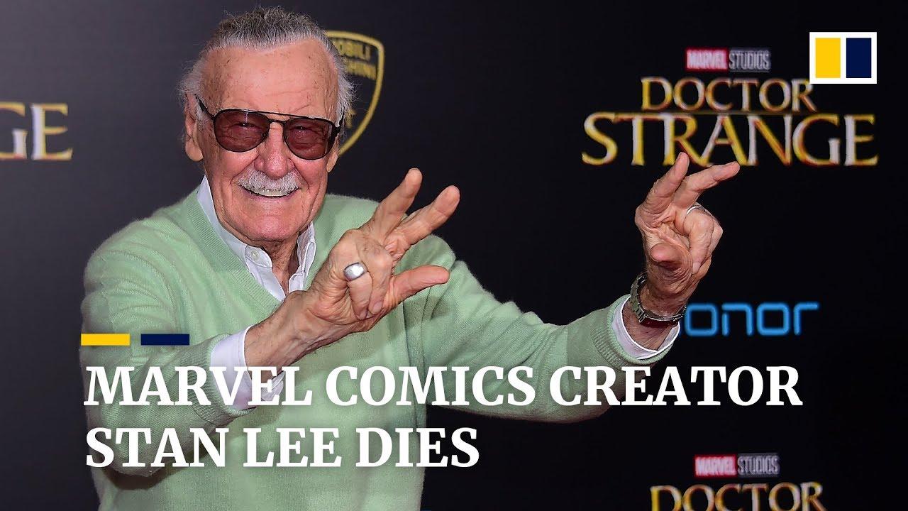 Legendary Marvel Comics writer Stan Lee dies aged 95