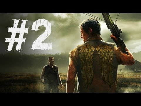 The Walking Dead Survival Instinct Gameplay Walkthrough Part 2 - Sheriff Station (Video Game)
