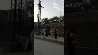 Eid k din bick par larko k dangerous travel