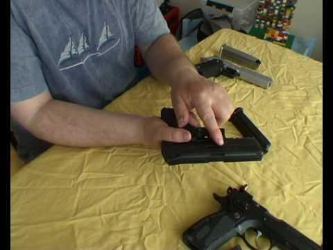 Gun review CZ 75 SP-01 Shadow vs HK P30 and STI Edge. pt 1 - 3