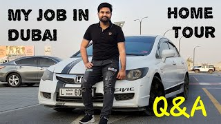 My Job In Dubai | Home Tour | First QnA Video | Mohsin Vlogz