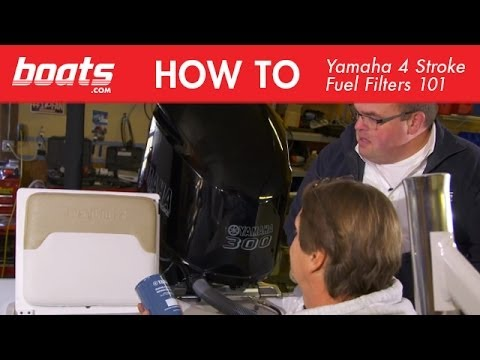Yamaha Four Stroke Outboard Fuel Filter Information. 101
