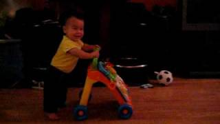 Kai and his walker