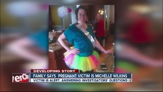Michelle Wilkins, pregnant woman who had baby cut from her womb, recovering